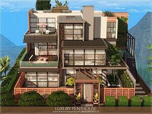 Luxury Penthouse sims 4 cc