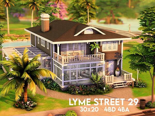 Lyme Street 29 sims 4 cc