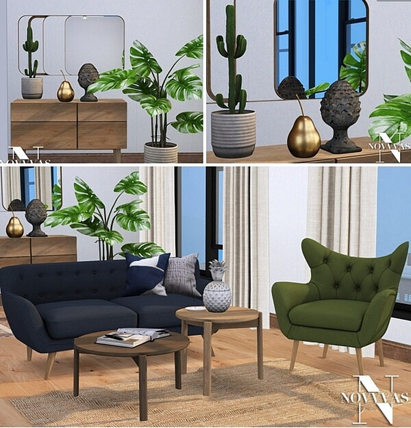 MADEIRA LIVING ROOM sims 4 cc