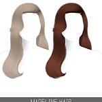 Madeline Hair sims 4 cc