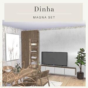 Magna Set sims 4 cc