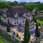 Maison Classique sims 4 cc