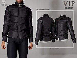 Male Outfit Top sims 4 cc