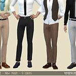 Man trousers M120 sims 4 cc