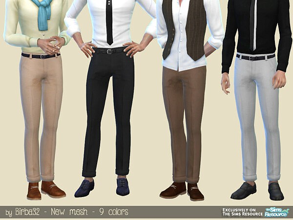 Man trousers M120 by Birba32 from TSR