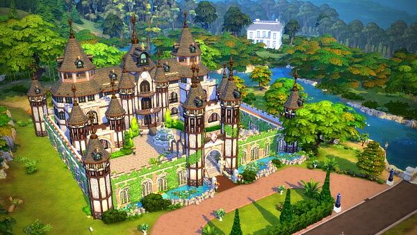 Medieval Castle sims 4 cc