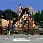 Medieval Inn sims 4 cc