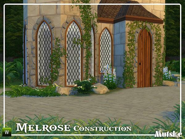 Melrose Construction Part 1 sims 4 cc
