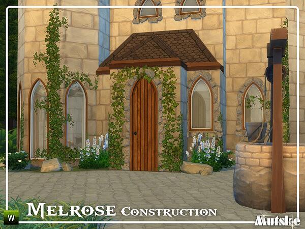 Melrose Construction Part 2 sims 4 cc