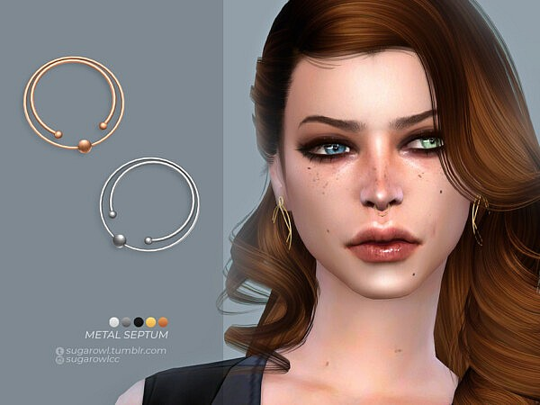 Metal septum sims 4 cc