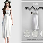 Midi Dress BD457 sims 4 cc