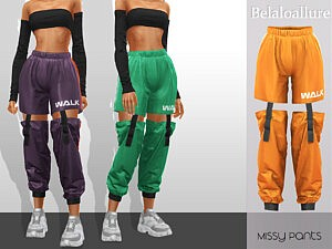 Missy cropped pants sims 4 cc