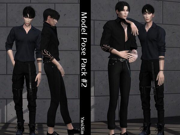 Model Pose Pack 2 sims 4 cc