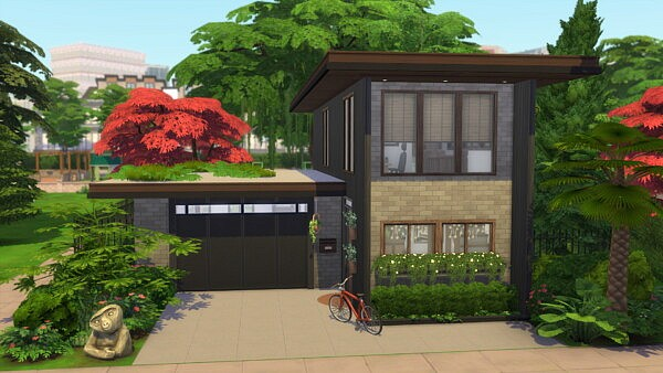 Modern freshness house by  Tom Matthew from Luniversims