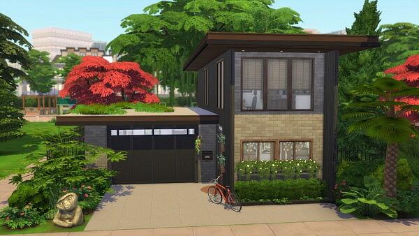 Modern freshness house sims 4 cc