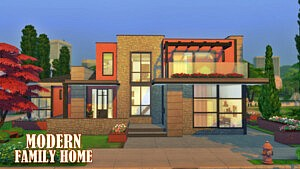 Modern home sims 4 cc