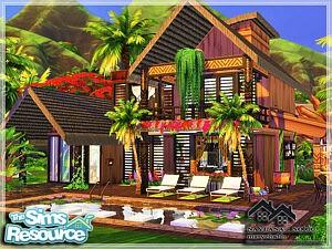 NAYLANA house sims 4 cc