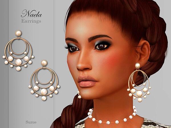 Naela Earrings sims 4 cc