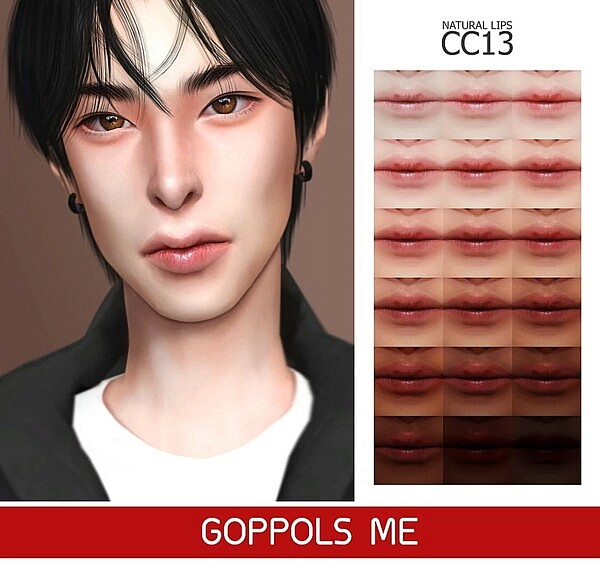 Natural Lips CC13 from GOPPOLS Me