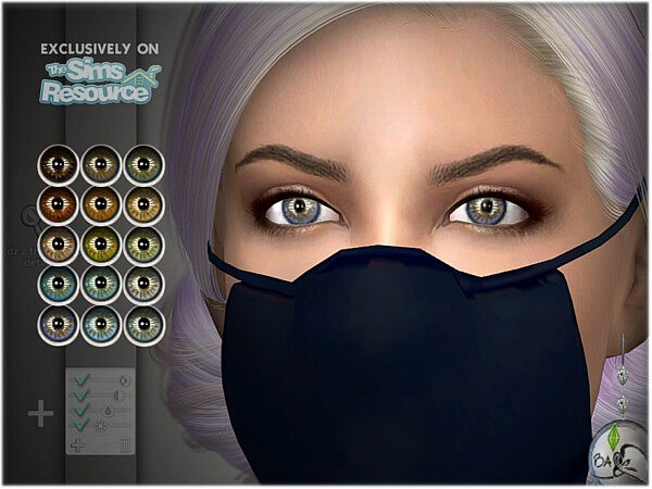 Natural eye colors 12 by BAkalia from TSR