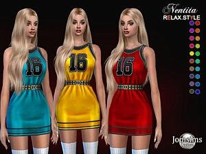 Nentita dress sims 4 cc