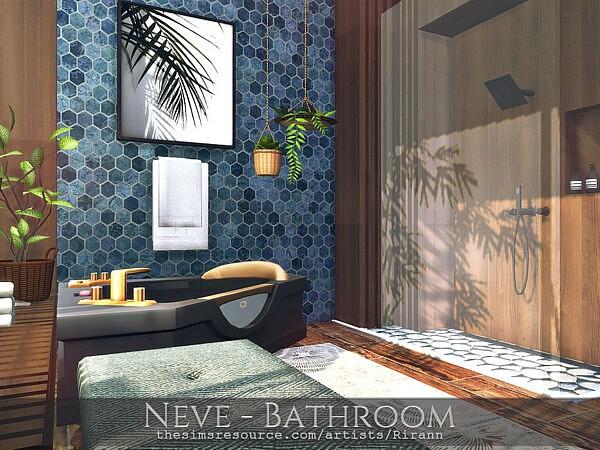 Neve Bathroom by Rirann from TSR