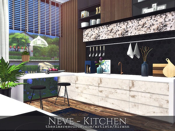 Neve Kitchen sims 4 cc