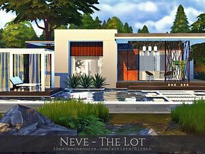 Neve The Lot sims 4 cc
