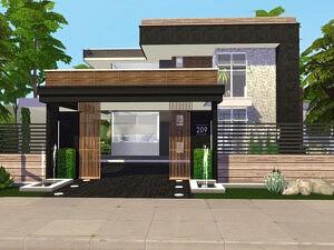 Nikita House sims 4 cc