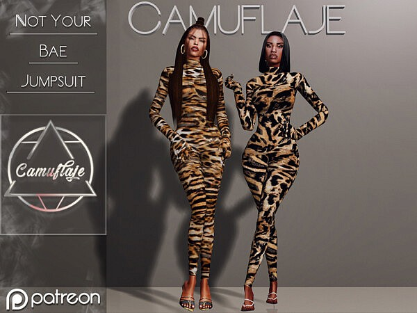 Not Your Bae Jumpsuit  by Camuflaje from TSR
