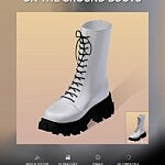 On The Ground Boots sims 4 cc
