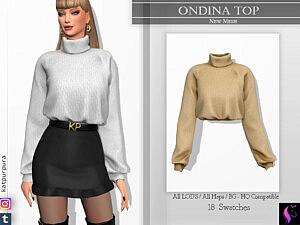Ondina Top sims 4 cc