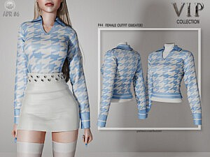 Outfit Sweater P45 sims 4 cc