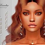 Paradise Earrings sims 4 cc