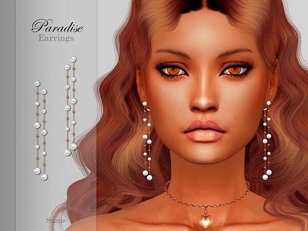 Paradise Earrings by Suzue from TSR