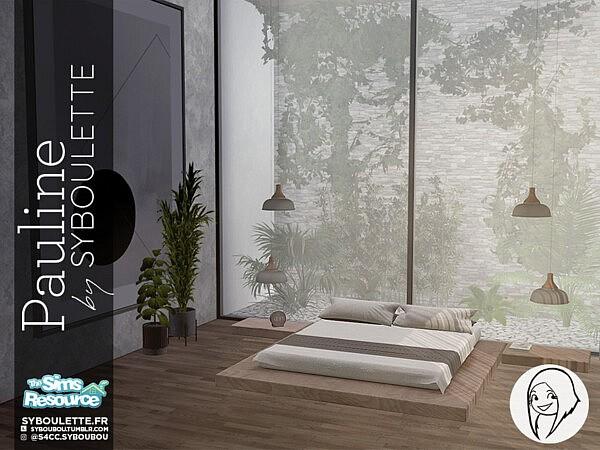 Pauline bedroom set sims 4 cc
