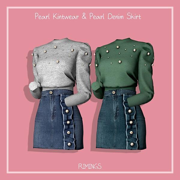 Pearl Kintwear and Pearl Denim Skirt from Rimings