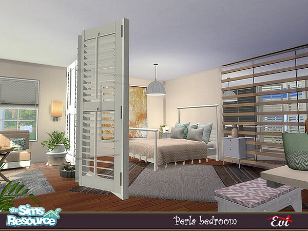 Perla Bedroom sims 4 cc