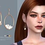 Pernilla earrings sims 4 cc
