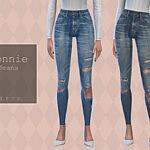 Pipco Connie Jeans sims 4 cc