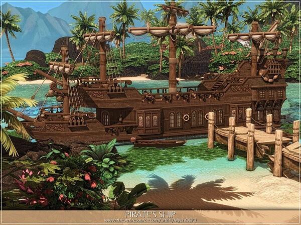 Pirates Ship sims 4 cc