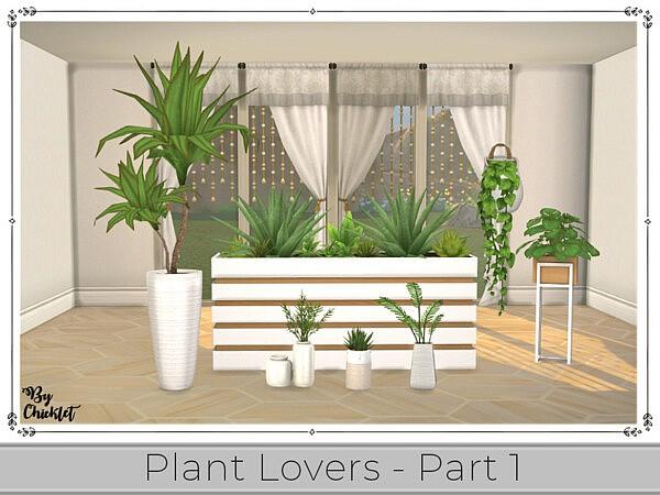 Plant Lover Set Part 1 sims 4 cc