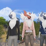 Play as Absol from Pokemon sims 4 cc