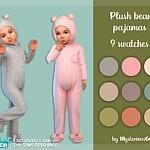 Plush bear pajamas sims 4 ccc