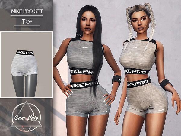 Pro Set Shorts sims 4 cc