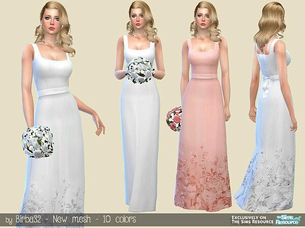 Pure Wedding Dress by Birba32 from TSR