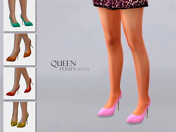 Queen Shoes sims 4 cc