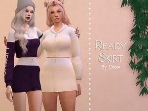 Ready Skirt sims 4 cc