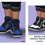 Retro Air Sneakers Child