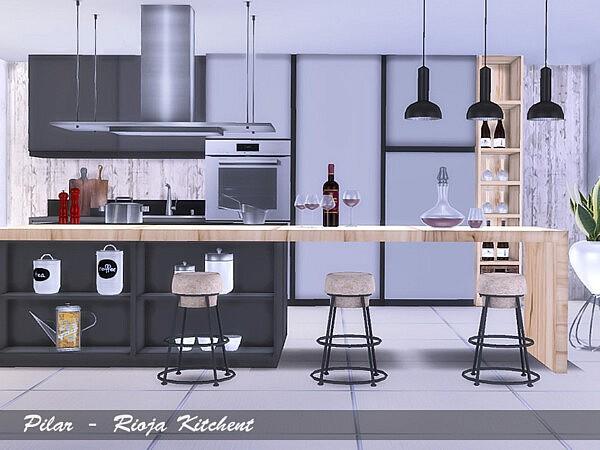 Rioja Kitchen sims 4 cc